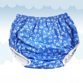 Diaper Cover Little Sailor