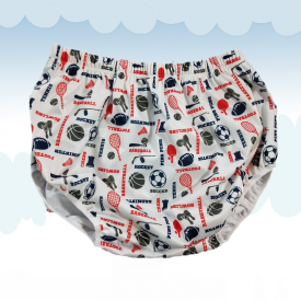 Diaper Cover Little Sportsman
