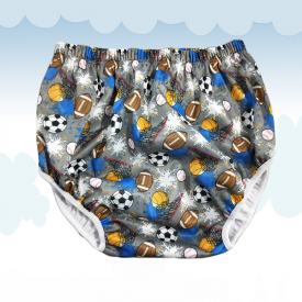 Diaper Cover Litlle Ball Games