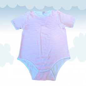 Onesie Kiddo Pink Stripes