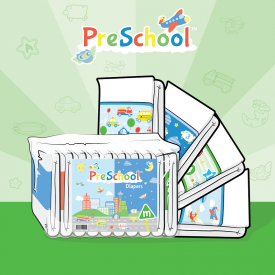 ABU PreSchool™Cloth-Backed Medium
