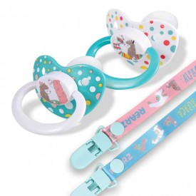 Rearz Alpaca Pacifier and Clip (2 Pack)