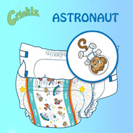 Crinklz Astronaut Medium