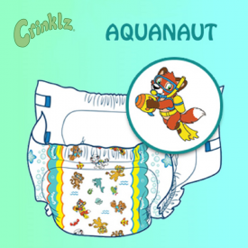 Crinklz Aquanaut Medium