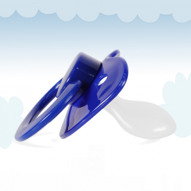 Dark Blue Adult Pacifier