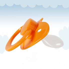 Orange Adult Pacifier