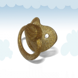 Gold Adult Pacifier