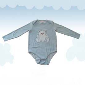 Body velours Ourson (manches longues)