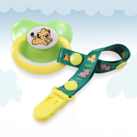 Safari Lion Griffin Pacifier