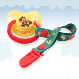 Safari Monkey Alex Pacifier