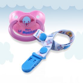 Lil' Monsters Midnight Bats Pacifier