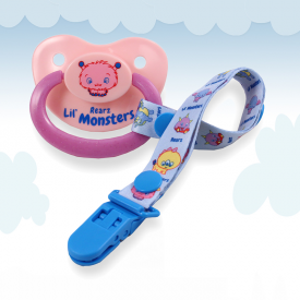 Lil' Monsters Puffy Pacifier